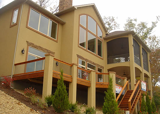 custom home builder lake of the ozarks